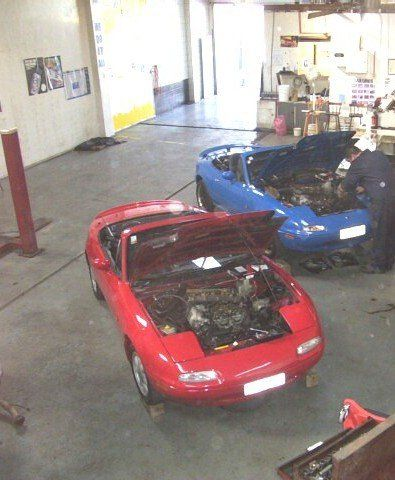 A professional motor servicing workshop in Whangerei