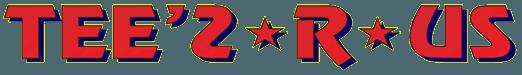 TEE 2 R US logo