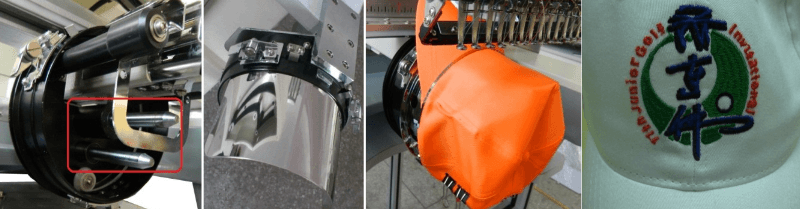different types of cap attachments