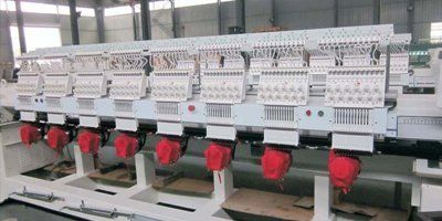 variety of embroidery equipment models