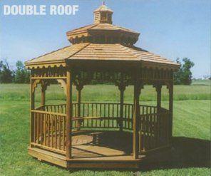 double roof gazebo in arkansas