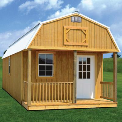 treated lofted barn cabin in arkansas