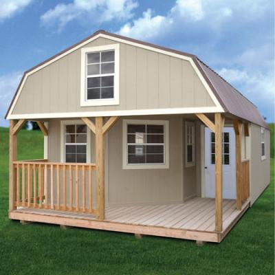 painted deluxe lofted barn cabin in arkansas