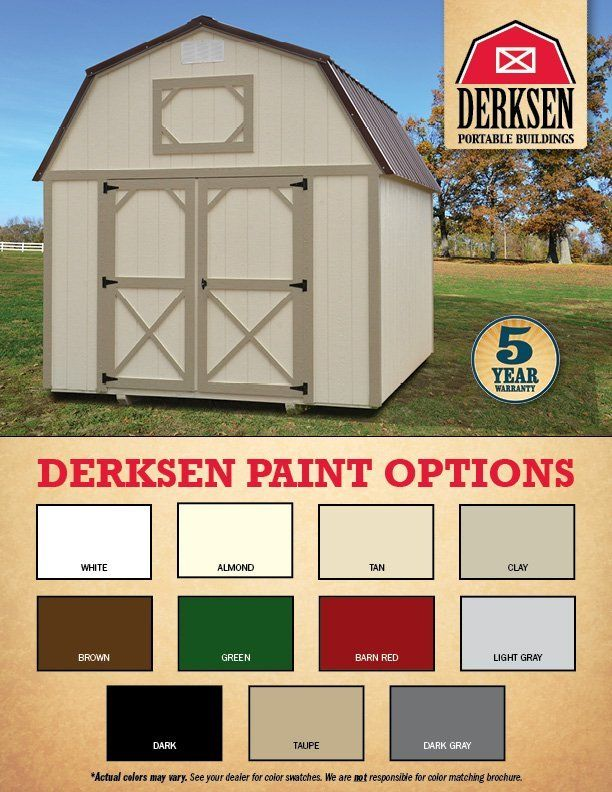Derksen Pricing & Options | I-30 Portable Buildings | Arkansas