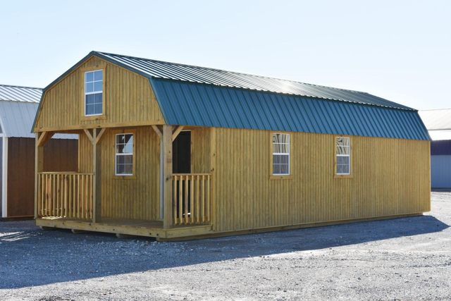 I-30 Portable Buildings | Arkansas | Lofted Barn Cabin