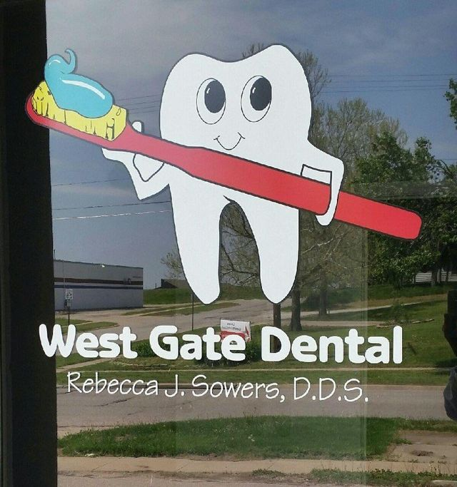 Entrance to our dental clinic in Lincoln, NE