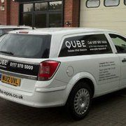 Qube EPoS Ltd service vehicle