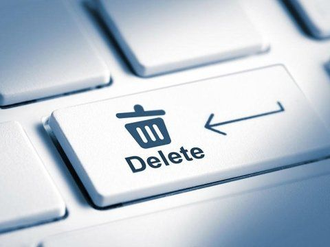 Cancellazione dati per l'oblio digitale