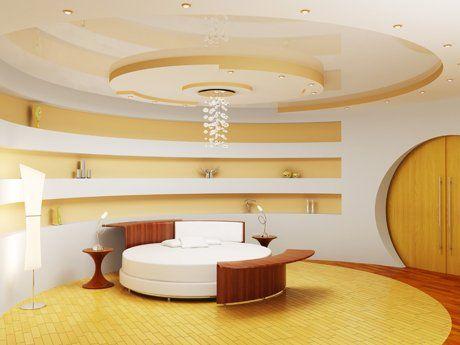 Camera da letto moderna arredata