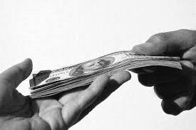 passagio di soldi