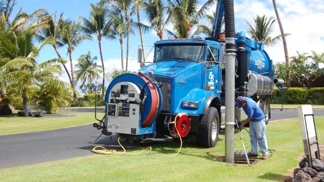 View of the completed service work done by trusted professional in Kamuela, HI