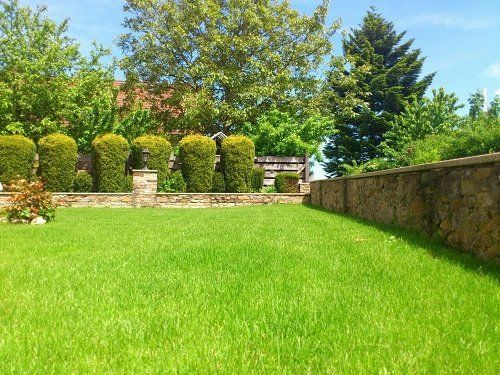 Un bel giardino privato