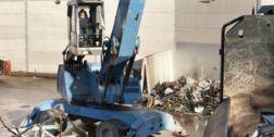 mezzi motorizzati per la raccolta di rottami
