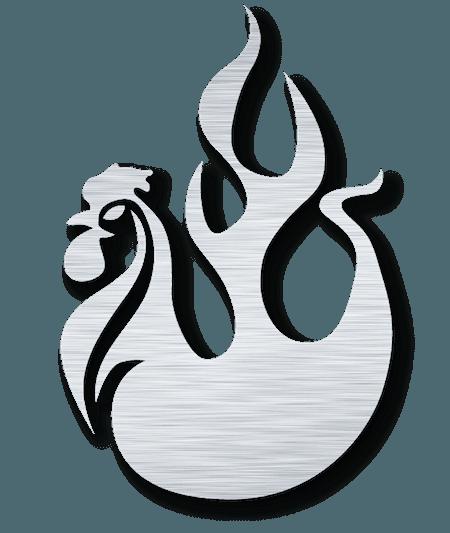 Steel Fire Wing Logo