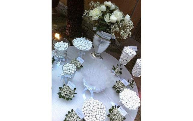 Confetti sulla tavola a Palermo