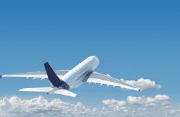 a flying flight