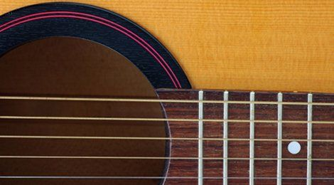 Acoustic guitar centre