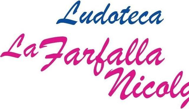 LUDOTECA LA FARFALLA NICOLGA - LOGO