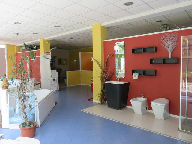 vista dello showroom faiser