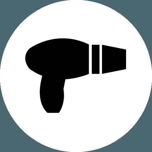 Icona di un phon