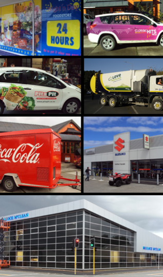 Vehicle signage and more in Otago