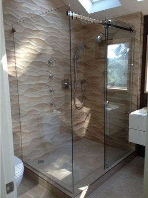 Frameless Serenity Shower Door