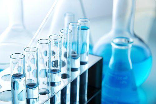 fiale per analisi chimiche