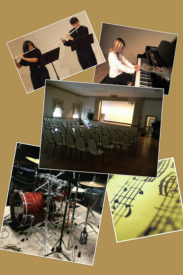 Traditional Music Recital Collage