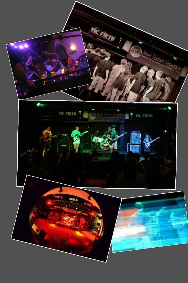 Full Band Rock Recitals Collage