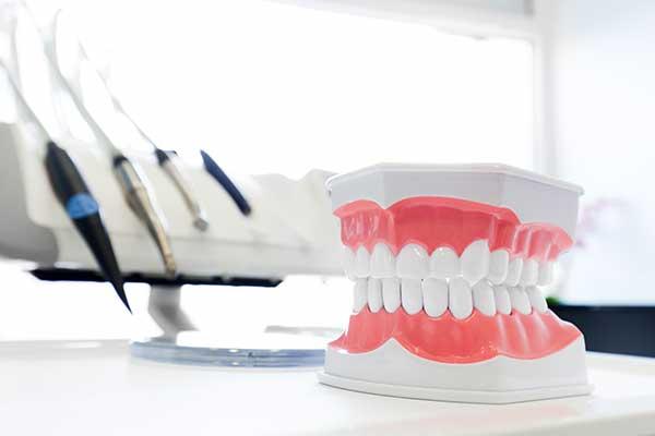 Modello di dentatura a Sarno