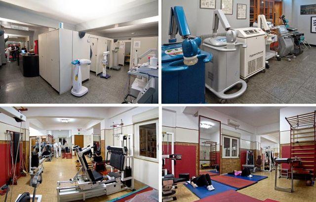 riabilitazione cardio-respiratoria, terapia della scoliosi, ginnastica riabilitativa