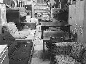 second hand furniture store rileys emporium in north london