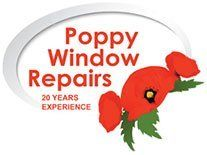 Poppy window repairs company logo