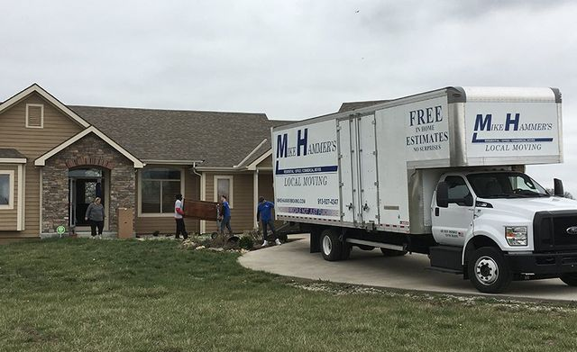 Mike Hammer Moving Family Into New Home