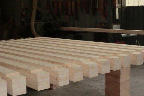 Piallatura e selezionatura legno