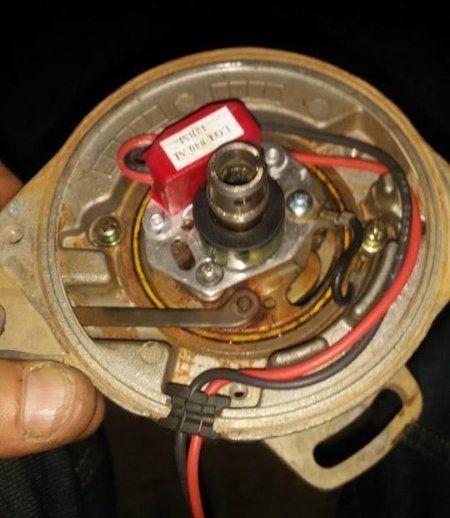 Fitting electronic ignition kit