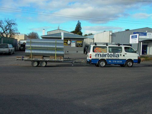 metal fabrication for your heating and cooling requirements in Marlborough