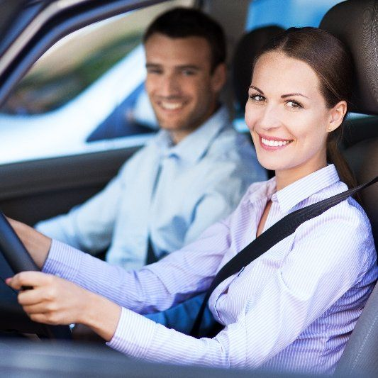 Driver happy after auto repairs