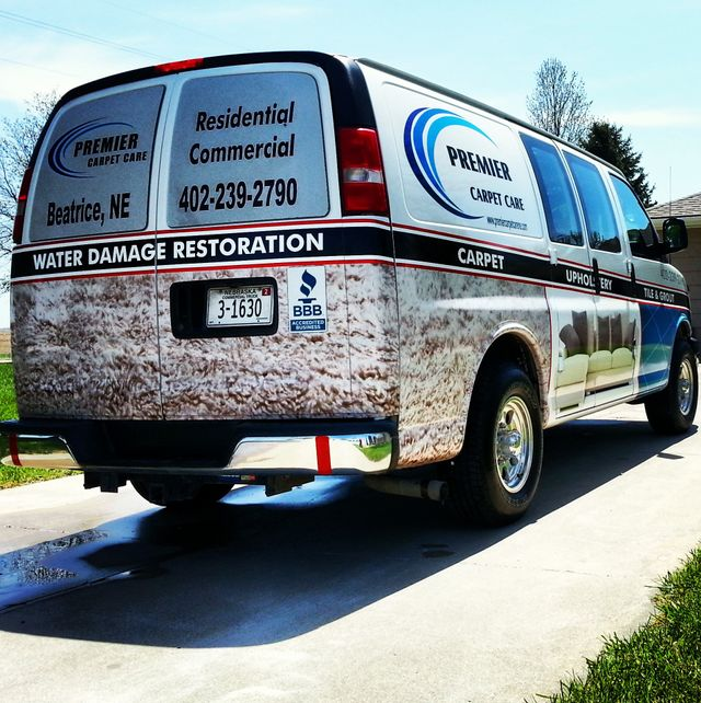 Premier Carpet Care Van