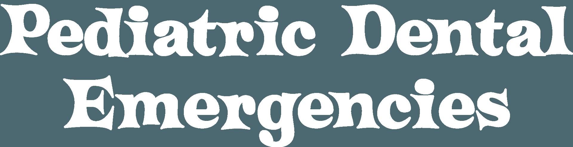 Pediatric Dental Emergencies
