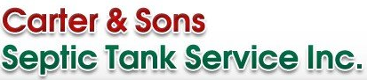 Carter & Sons Septic Tank Service Inc  – Home