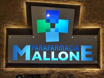 insegna Parafarmacia Mallone