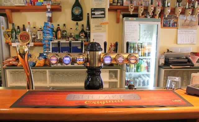 Our local bar in Otago