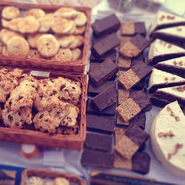 Tasty treats from our bakery in Leamington Spa