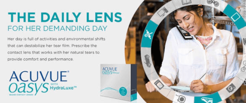 acuvue one day contact lens