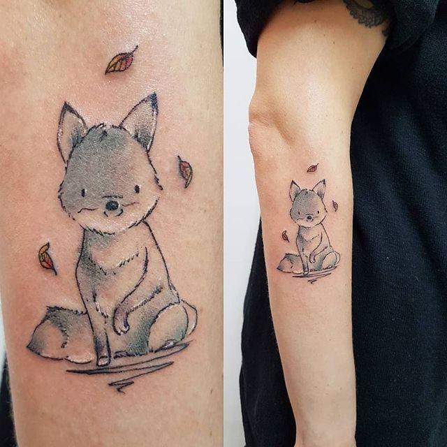 Tatuaggi Floreali E Con Disegni Di Animali Milano Segrate San