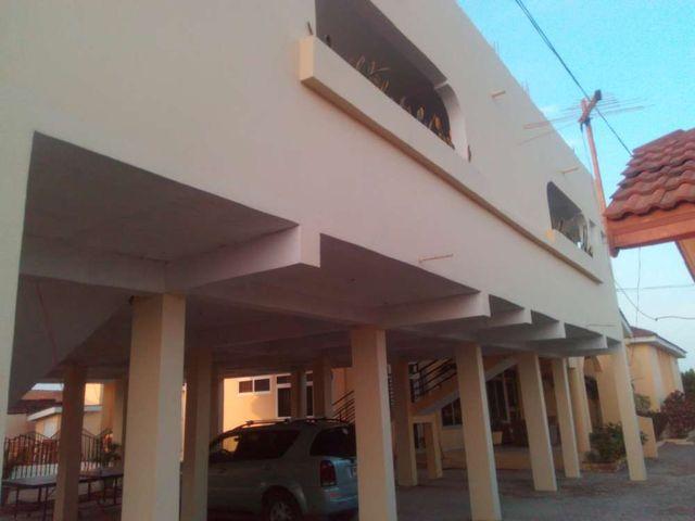 outside villa 7