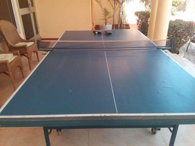 villa 6 pool table