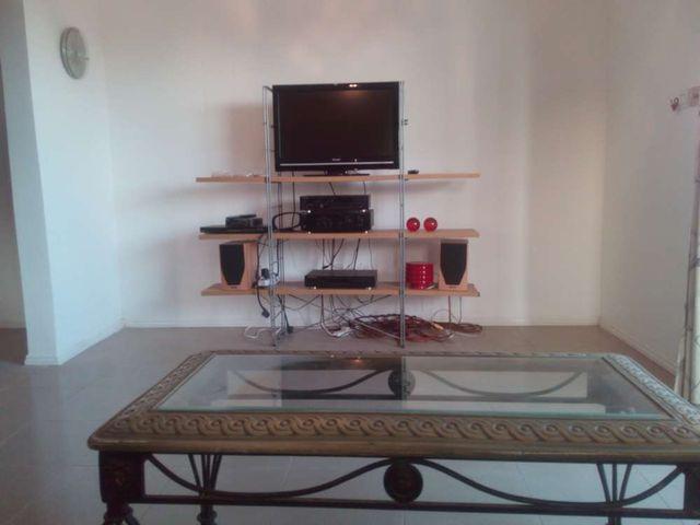 villa 6 living room tv