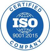 Certified ISO 9001 Company logo
